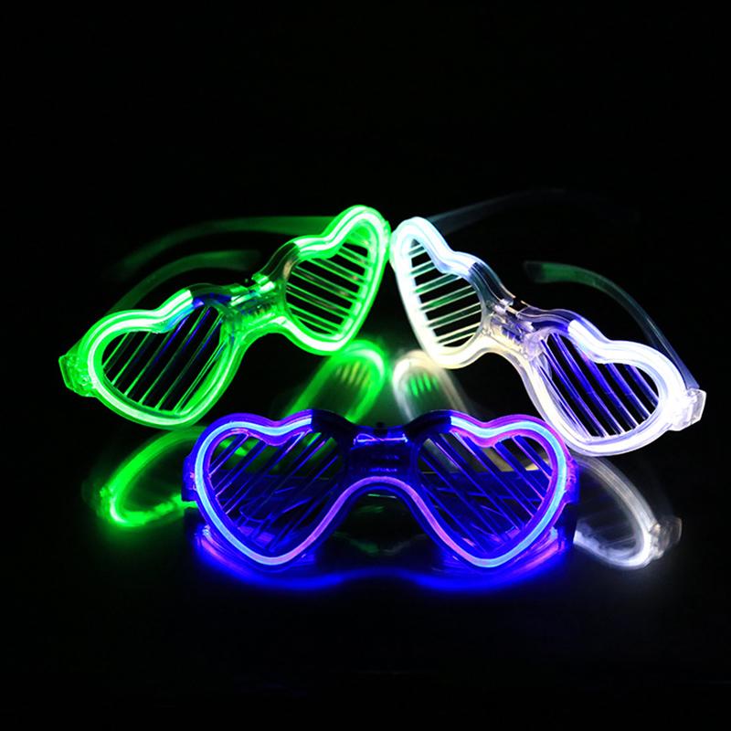 1pc Flash Party Glasses Novelty LED Decoration Party Mask Supplies Celebration Gifts Bars New Year Decoration Christmas(China (Mainland))