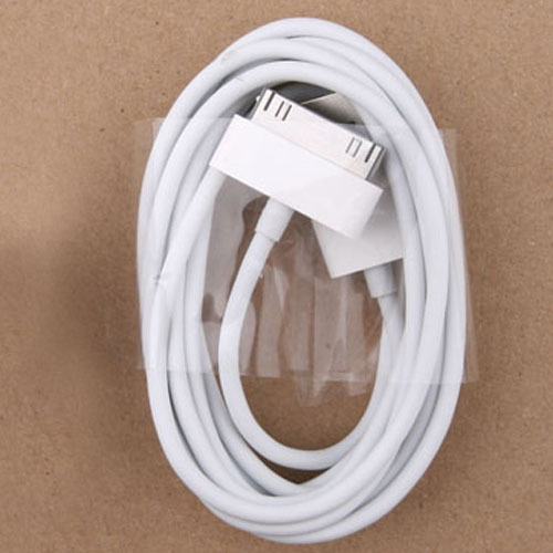 Free shipping 50pcs/lot 2M 6.5FT Long USB Data Sync Charge Cable For Apple iPhone ipad ipod 3G 4G 4S(China (Mainland))