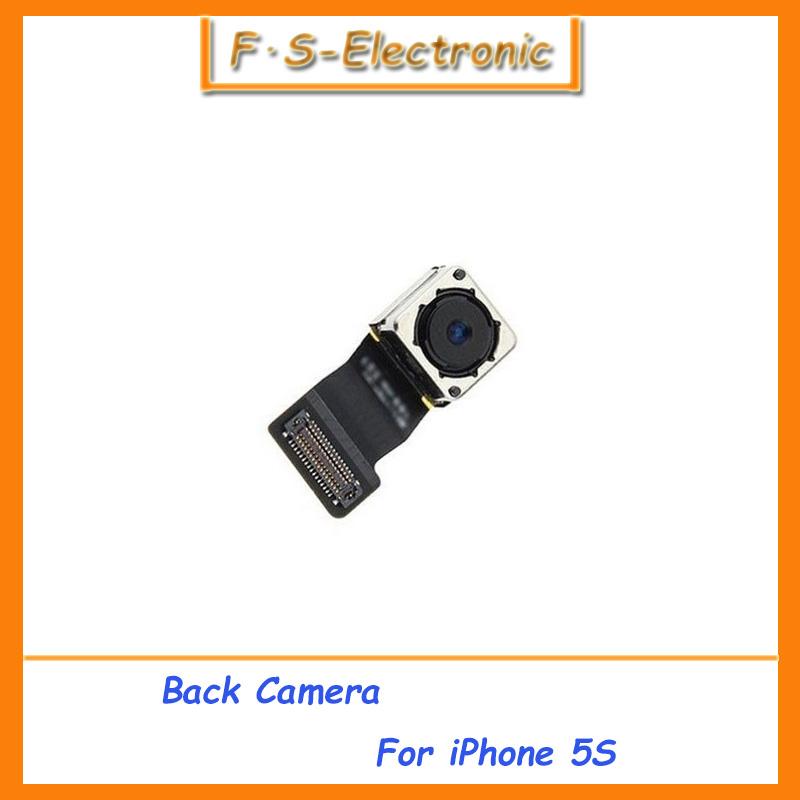 10pcs/lot original Main Rear Back Camera + Flex Cable Ribbon Replacement Repair Part for iPhone 5S