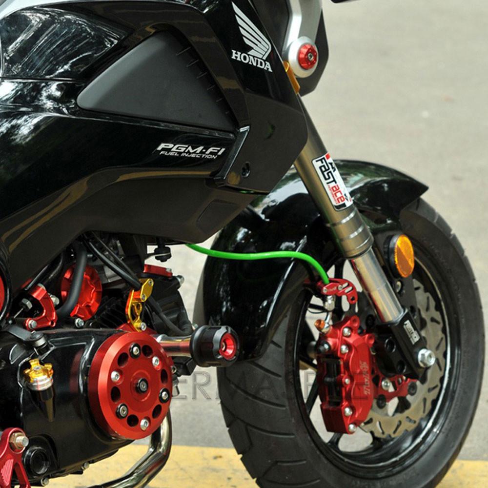 Control deslizante del marco de la motocicleta Deslizador de marco de aleaci/ón de aluminio de la motocicleta Almohadilla antichoque de motocicleta Almohadilla protectora plateado