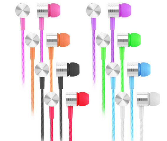 Hot 3.5mm Stereo Bass in-ear headset earphone Headphone With Mic for Android mobile iphone 4 5 6 Samsung Note HTC Xiaomi iPod E4(China (Mainland))
