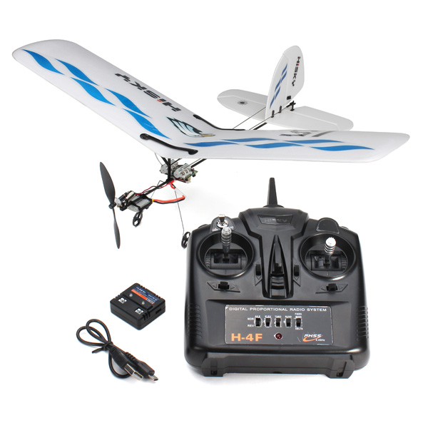 Rc Plane Aeromodelo Hisky Buzz HFW400 Micro Flyer 2.4G 3CH Parkflyers Indoor RC Airplane RTF aircraft model toy(China (Mainland))