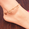 New Accessories Designer butterfly anklet bracelet women fashion beach foot chain girl love ankle bracelet on the leg jewelry