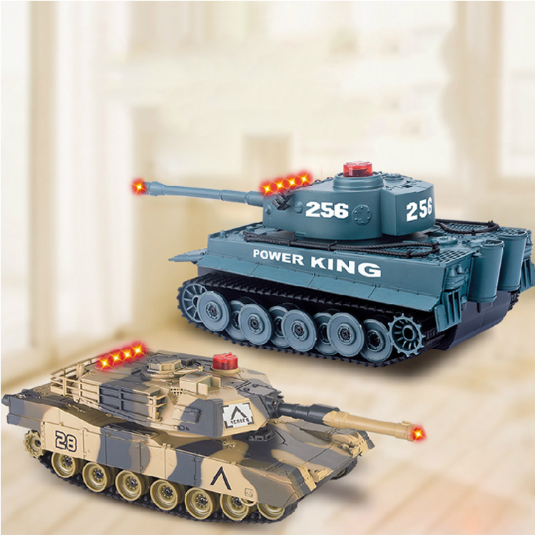 New Coming Gift  Fighting Battle Tanks  RC Infrared Shooting Tank Electric Toys Army Vehicle Big War Tank