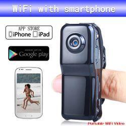 New Micro Wifi Camera MD81S Wireless Camera IP Cam Mini DV DVR Video Voice Recorder Camcorder Camara Espia With Retail Box(China (Mainland))