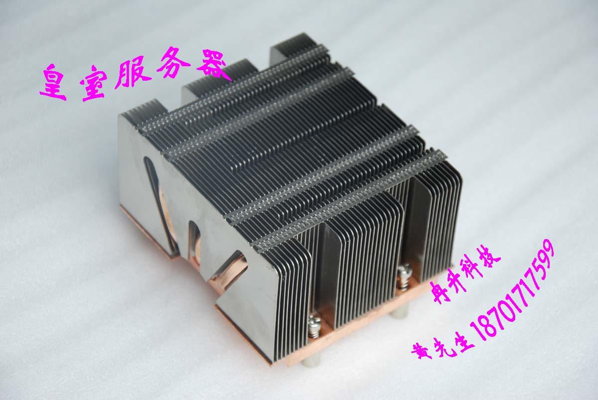 771-pin 2U Server CPU heat sink thermal conductivity of pure copper base 3 brass passive radiator(China (Mainland))