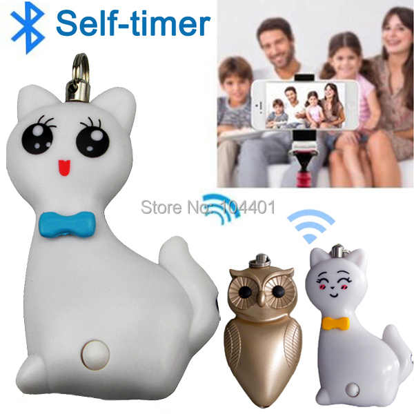 LED iOS Android Camera Bluetooth Remote Control Shutter Monopod Self Timer for iPhone ipad samsung HTC Built-in Lithium Battery<br><br>Aliexpress