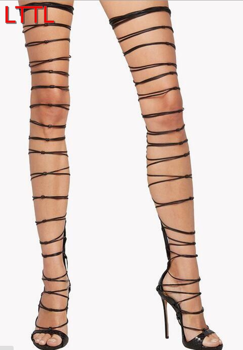 Compare Prices on Thigh High Boot Heels Cage- Online Shopping/Buy ...