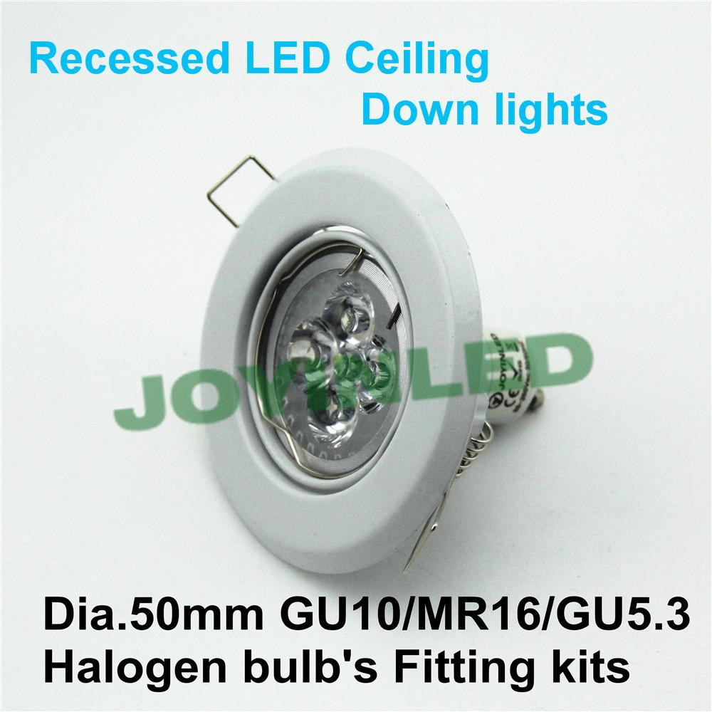 10pcs/lot Led spotlight fitting GU10 MR16 E27 holders white iron case led ceiling light fixtures for home(China (Mainland))