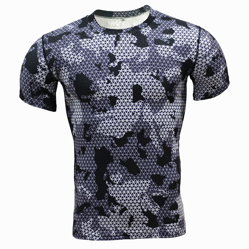 2016 New Compressed T-Shirts Football Style Club And National Sports T Shirt Quick Dry Fitness Clothing Sportswear TShirt Sports(China (Mainland))