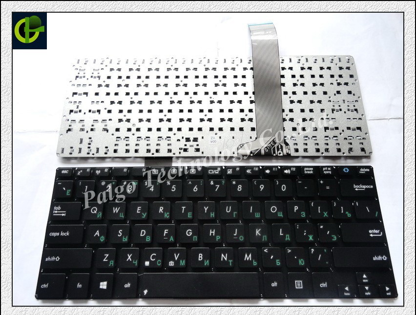 5pc/lot Russian Keyboard for ASUS VivoBook S300 S300C  S300SC S300CA S300K S300KI  RU Black laptop keyboard<br>