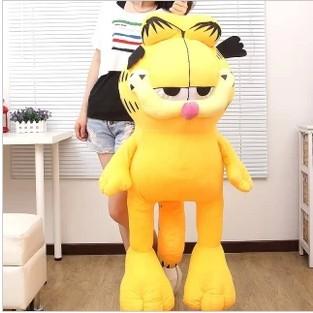 Plush toy 60cm Garfield plush doll new style factory supply Christmas gift freeshipping(China (Mainland))