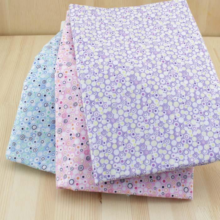 Three-color Cotton plain weave Cotton muslin groups , DIY handmade Fabric width 150CM Patchwork (1 meter)(China (Mainland))