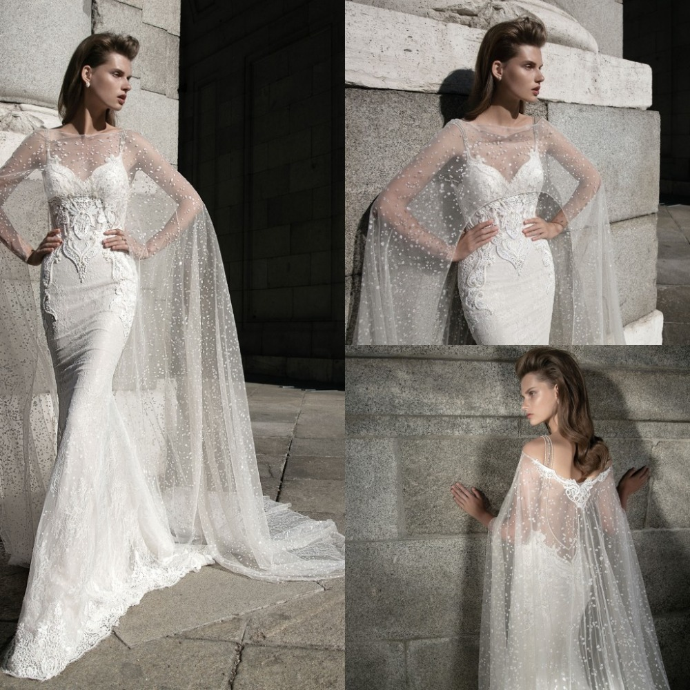 2016 Vintage Cheap Wedding Dresses Mermaid Lace Applique