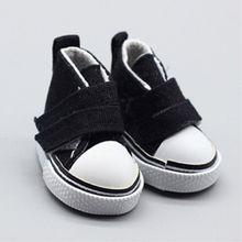 5 см-7,5 см кукольная обувь с двойной пряжкой джинсовая Повседневная парусиновая обувь для 1/6 ручная работа детали для самостоятельной сборки...(China)