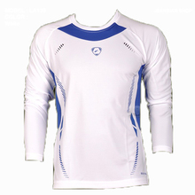 New Fashion Long Sleeve Fitness Mens T Shirts Sport Compression Mens Fitness T Shirts Exercise Sportswear