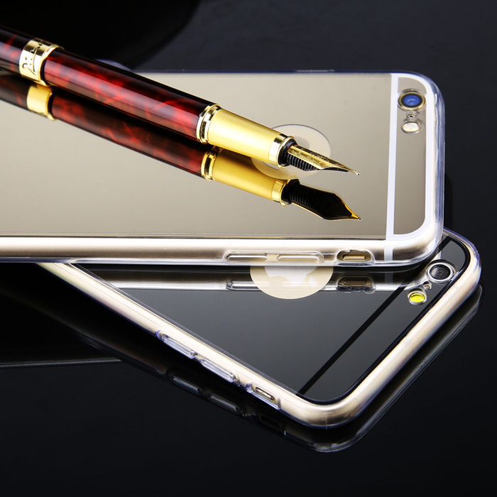 Case for Iphone 5 5S Luxury Acrylic Mirror Surface case Scratch-resistant Soft Phone Bags/case Wholesale New Hot style ASJ008901(China (Mainland))