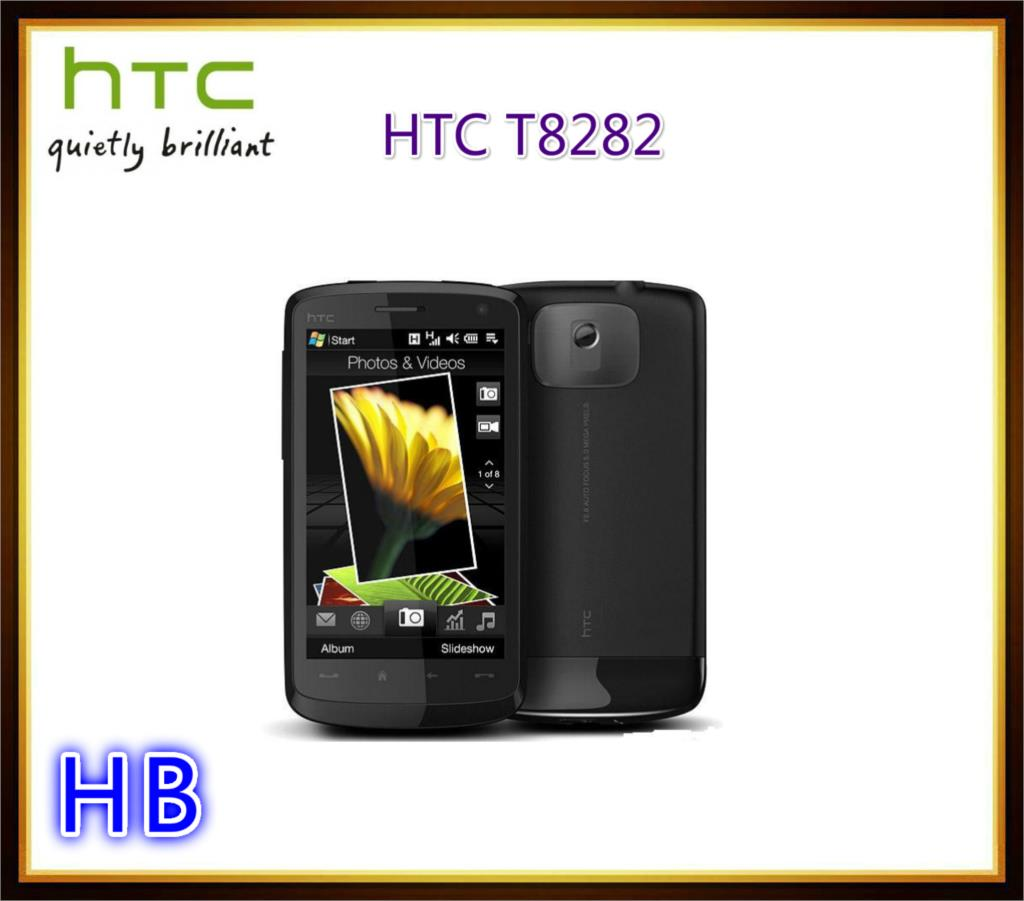 """Unlocked HTC Touch HD T8282 Mobile Phone Wifi Windows GPS 3G Bluetooth 5MP 3.8"""" Touch Screen Cell Phone(China (Mainland))"""