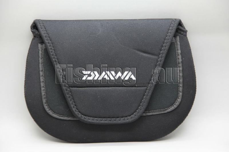 2015 daiwa fishing reel bag spinning reel covers saltwater for Fishing reel covers
