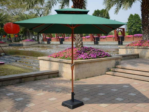 Outdoor patio umbrellas umbrella column garden tables and chairs coffee bar street advertising hand<br><br>Aliexpress