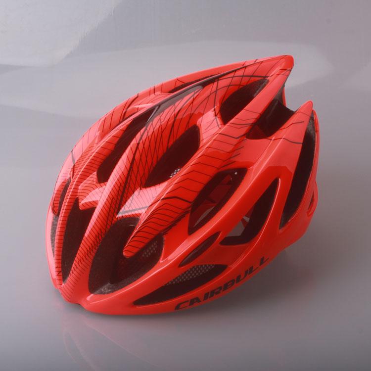Fluorescent orange CAIRBULL cycling helmet integrally molded mountain road bike helmet riding equipment M/L<br><br>Aliexpress
