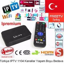 Original Ipremium 1000+ channels Turkey IPTV Box Android TV Box Wifi IPTV sport movie Adult Channel Turkey free watching forever