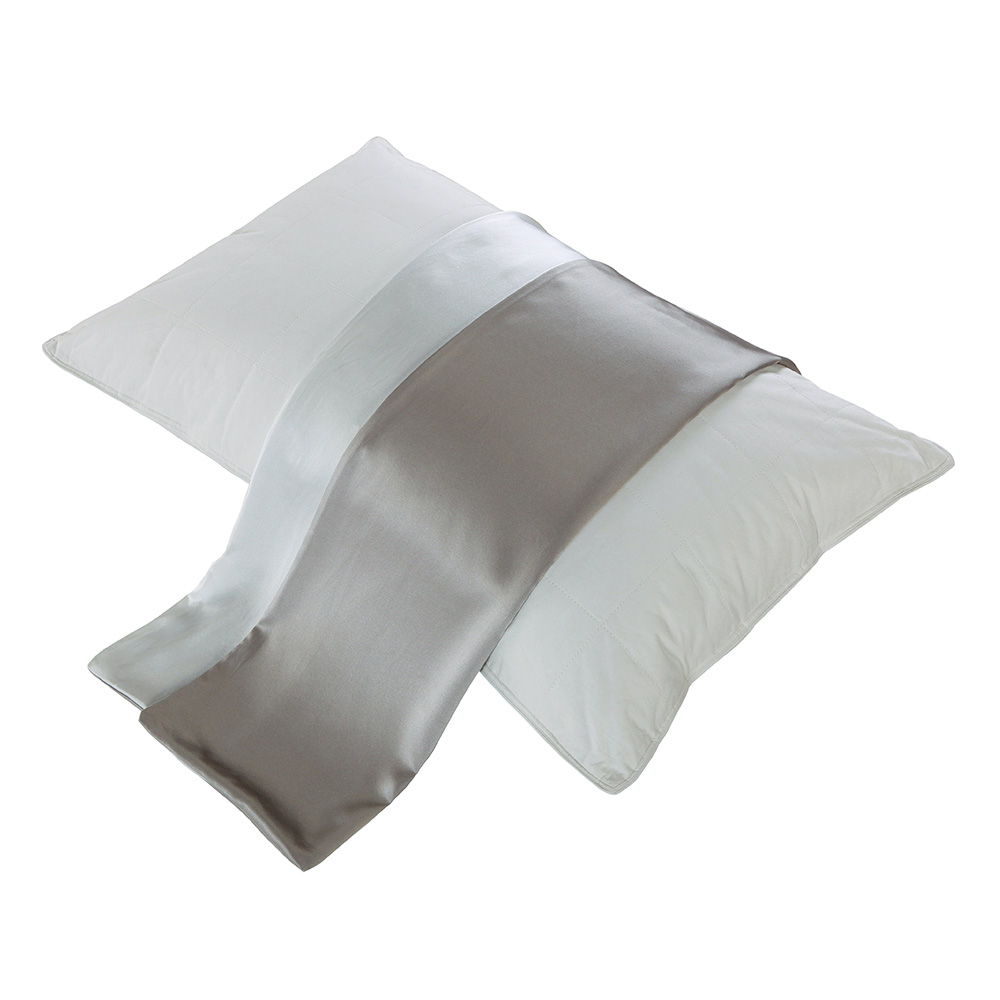 white-19-momme-contrast-color-charmeuse-silk-pillowcase-silvergray-and-white-05