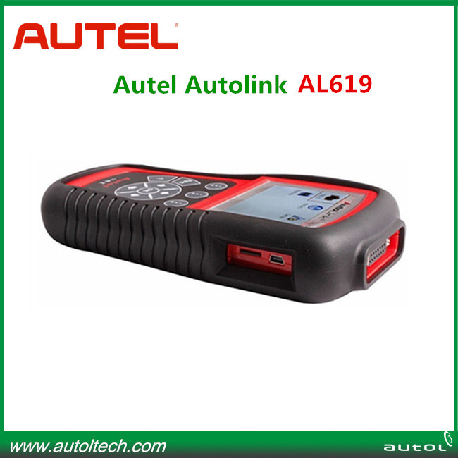 Original AUTEL Product Autel AutoLink al619 abs srs OBDII&CAN Diagnostic Scan Tool with one year warranty(China (Mainland))
