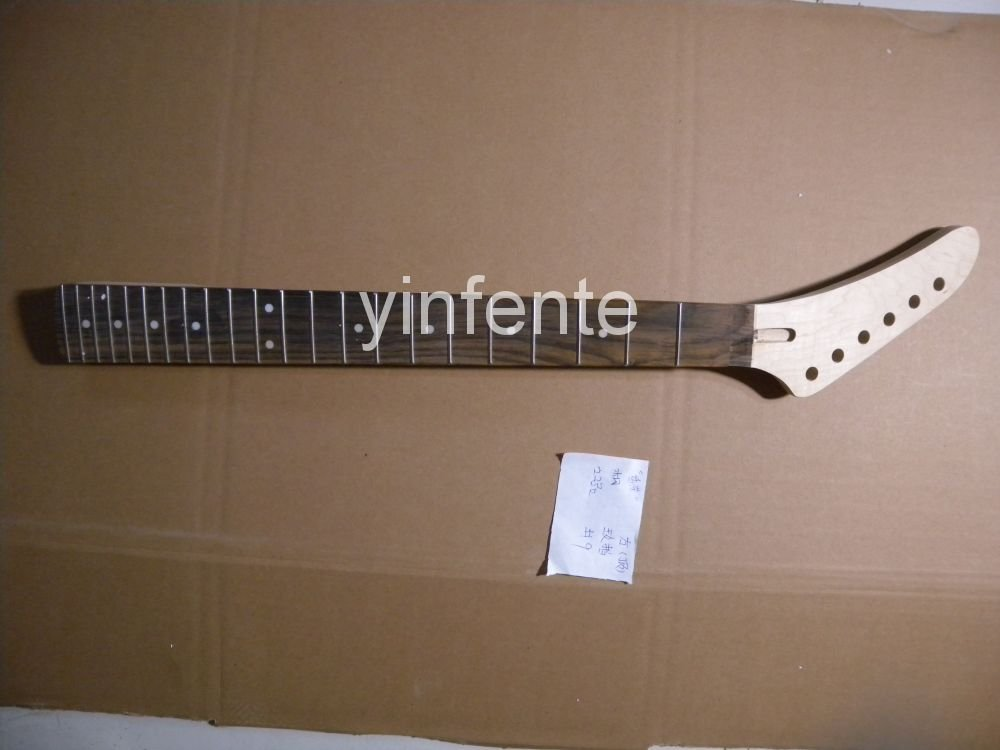 New High Quality Unfinished electric guitar neck Solid wood Body &amp;  fingerboard JACKSON model 1pcs #9<br>