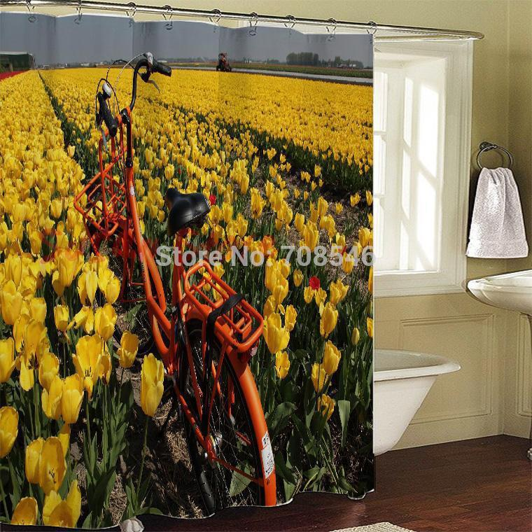 Cortinas De Baño Quality:bicicleta calidad Cortina Cortina de ducha, productos de baño de