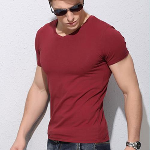 Short Sleeve long stapled cotton t shirt men 2015,Famous Brand Design summer mens t shirts fashion 2015, brand t shirt(China (Mainland))