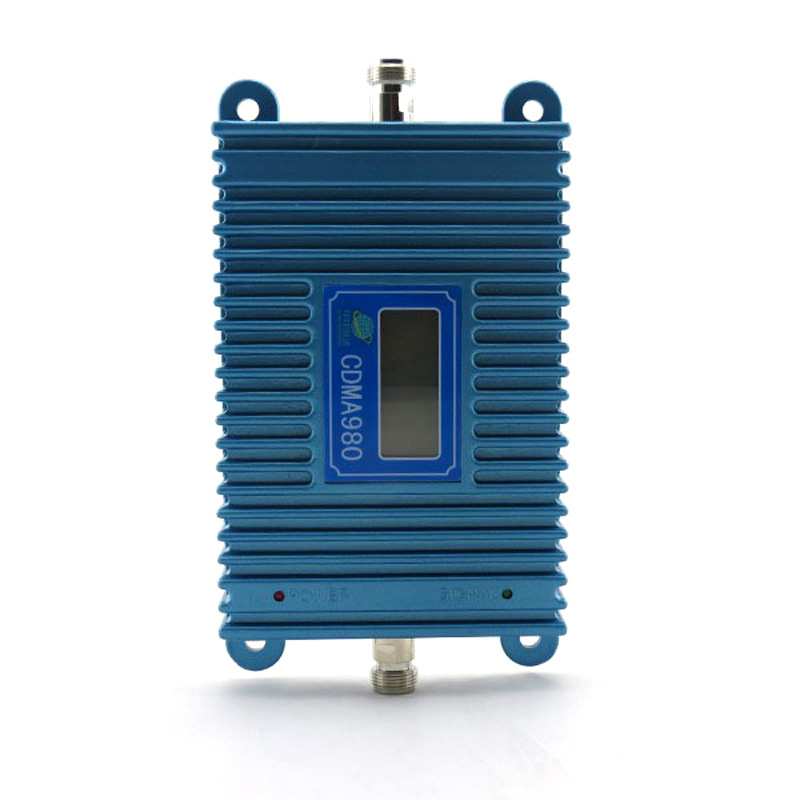 1PCS LCD Display CDMA 980 850Mhz Mobile Phone Signal CDMA Booste Repeater Amplifier Coverage 2000square Free Shipping
