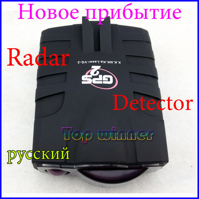 Brand new - 100% Factory price Car radar detector with  Russian/English voice+Freeshipping