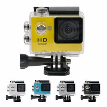 "Multi-lingual 1080P Extreme Sports Camera 2.0"" Display Under Water Camera 30m Waterproof Action Cam Recorder Full HD 45_N7595"