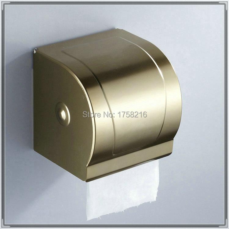 Fashion Antique Toilet Paper Holders Box Space Aluminum