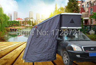 Roof car tent shells tents outdoor camping tents 3-4 people tent 210X125X90CM size(China (Mainland))