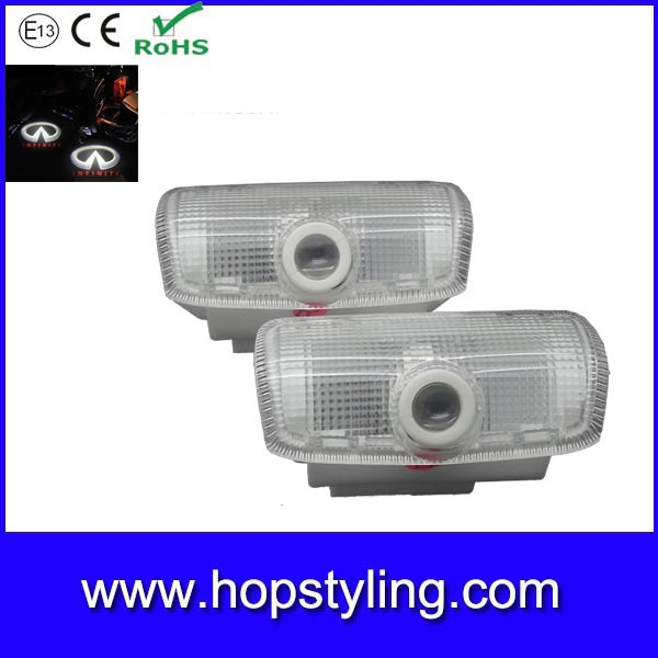 china exporter car styling car courtesy laser projector logo light for Infinite car door logo light for QX50 QX60 QX70 QX80 FX(China (Mainland))