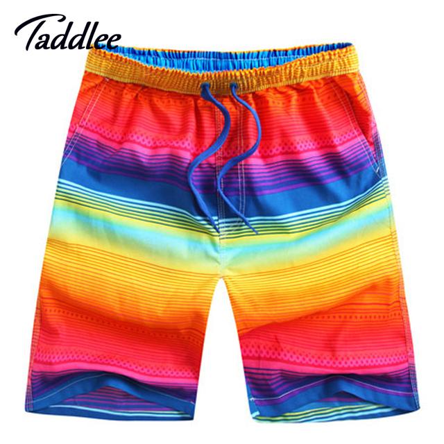 Новые прибыл мода лето быстросохнущие мужчины пляжные шорты бренд купальники купальники ...