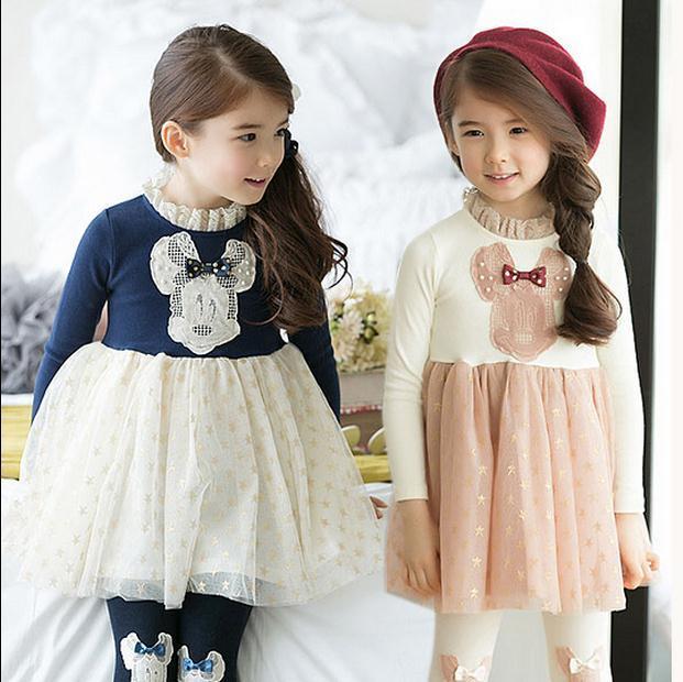 Весна , лето , новый девушки кружевном платье девушка ну вечеринку платье по уходу за детьми девушка с длинным рукавом принцесса платья