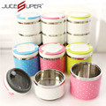 Children Stainless Steel PP Bento Lunch Box Food Container Handle Lunch Box Dinnerware Sets Kitchen Tools