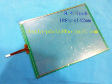 8.4'' inch 4 wire Resistive Touch screen digitizer 188mmx142mm GPS/Tablet PC/MID touch panel/Industrial use(China (Mainland))