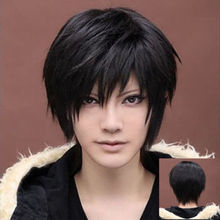 jj 002731 Handsome Boys Short Wig Vogue Sexy Men's Male Hair Cosplay Wigs