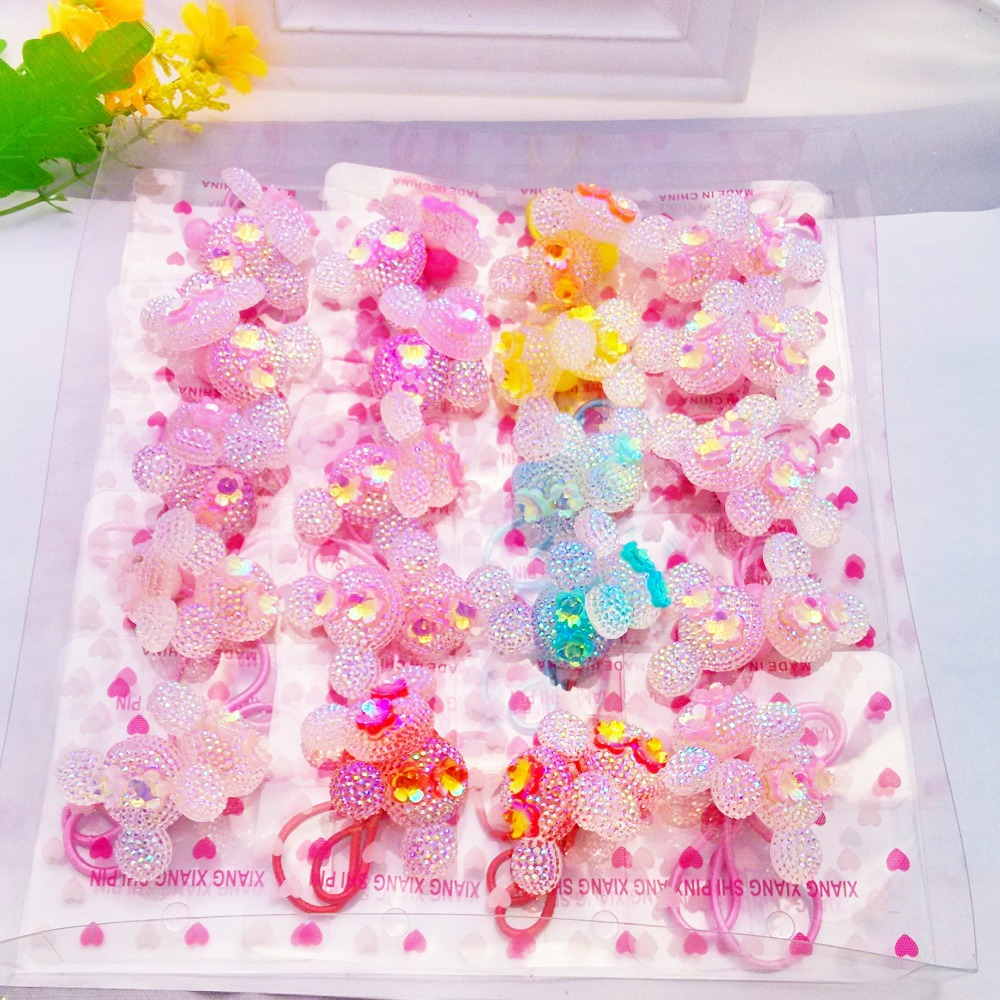3 pairs Headwear Colorful Bow Cute Fruit Heart Girls Hair Accessories Hello Kitty Baby Headband Children Accessories Hair Band(China (Mainland))