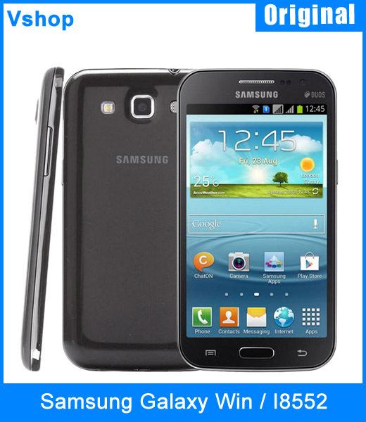 "3G Original Samsung Galaxy Win / I8552 4GBROM + 1GBRAM 4.7"" Android 4.1 Qualcomm Snapdragon MSM8225Q Quad Core 1.2GHz Smartphone(China (Mainland))"