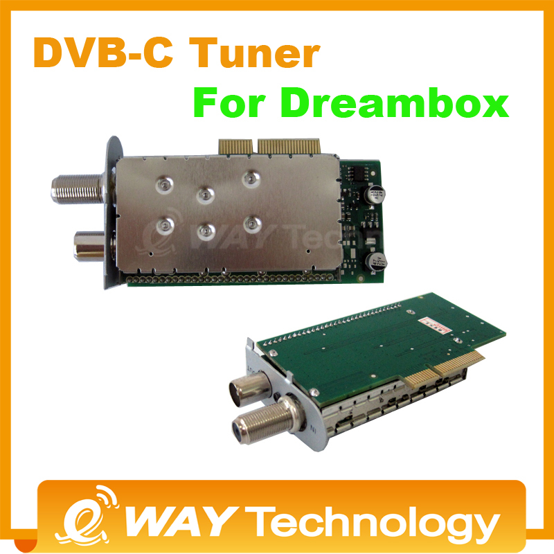 free shipping DVB-C Tuner for dm800HD SE sunray&dream box 800 HD 800HD-C dm800SE-C Cable Tuner receiver dm800se-c tuner(China (Mainland))