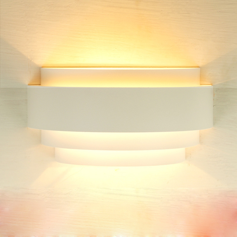 simple painted metal bedroom wall light semi circle hallway corridor wall lighting fixtures mirror front bedroom wall lighting fixtures