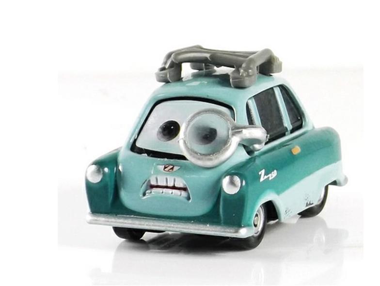 100% Original PIXAR CARS 2 - Professor Z 1:55 Diecast Metal Loose Toy Cars for Kids Children(China (Mainland))