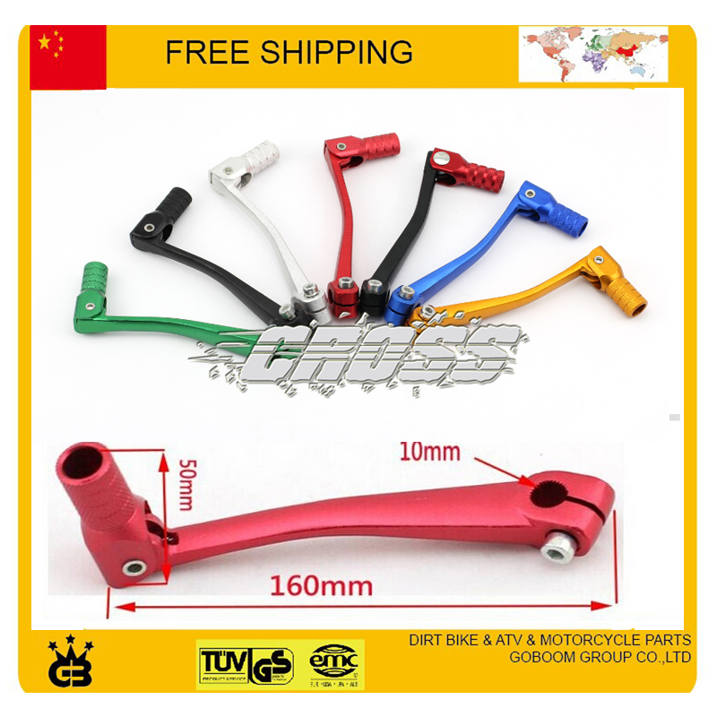 gear shift lever alloy aluminium crf 50cc 110cc 250cc dirt pit monkey bike motorcycle atv quad accessories parts free shipping(China (Mainland))