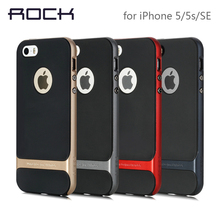 ROCK Luxury Royce Phone case For iPhone 5 5S SE Slim Armor cover shell For Apple Back Cover for iPhone 5s SE case cover(China (Mainland))