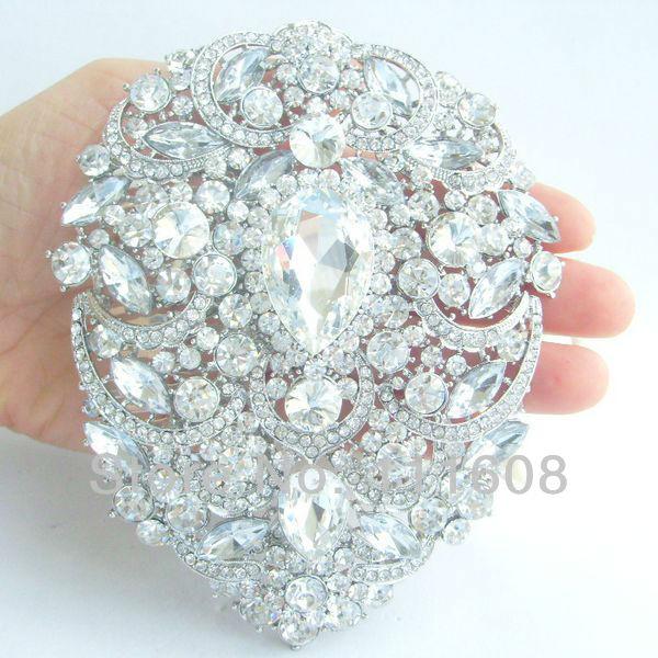 Aliexpress Buy 492 Bridal Costume Jewelry Bouquet Wedding Bridal Rhinestone Crystal